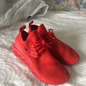 Nike Orange Neon Sneakers